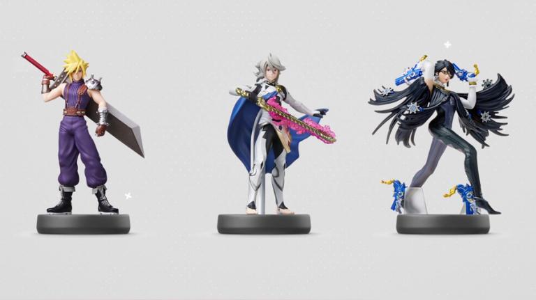 Nintendo présente de nouveaux amiibo Zelda, Cloud, Bayonetta et Corrin