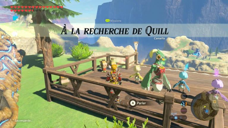 A la recherche de Quill