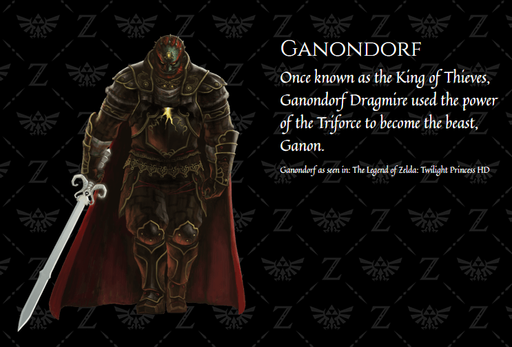 Nintendo officialise le nom complet de Ganon (Zelda) : Ganondorf Dragmire