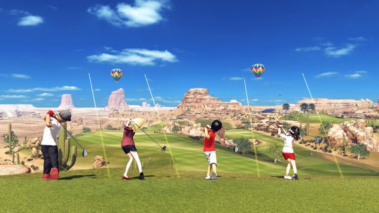 Everybody's Golf : Du fun à l'état pur, à plusieurs ou en solo