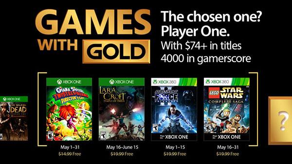 La liste des jeux offerts en MAI 2017 — Games With Gold