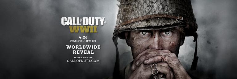 Call of Duty : WWII confirmé pour cette année 2017