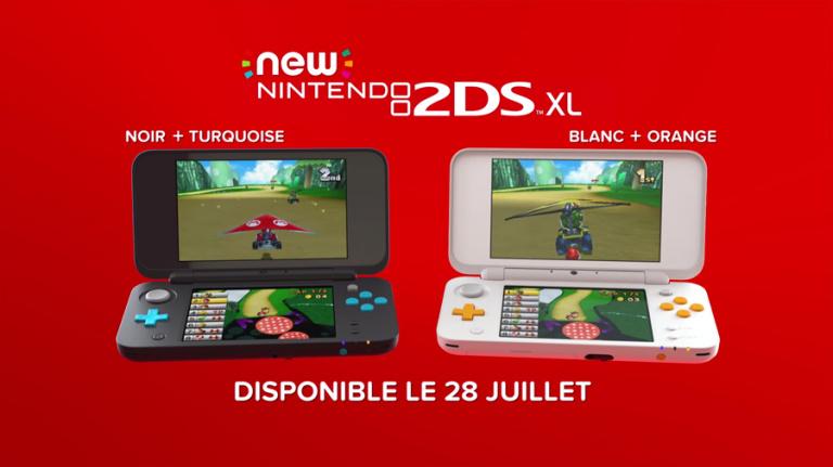 Nintendo annonce la New 2DS XL
