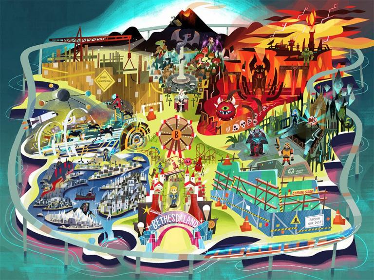 E3 2017 : Bethesda fait du teasing sur ses annonces
