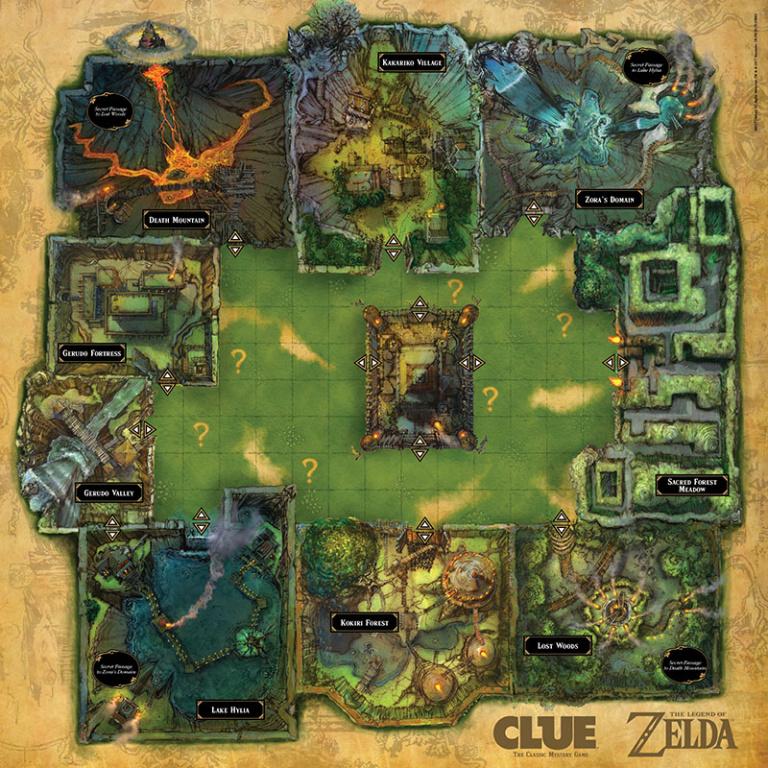Un nouveau Cluedo aux couleurs de Zelda pour cette année aux US