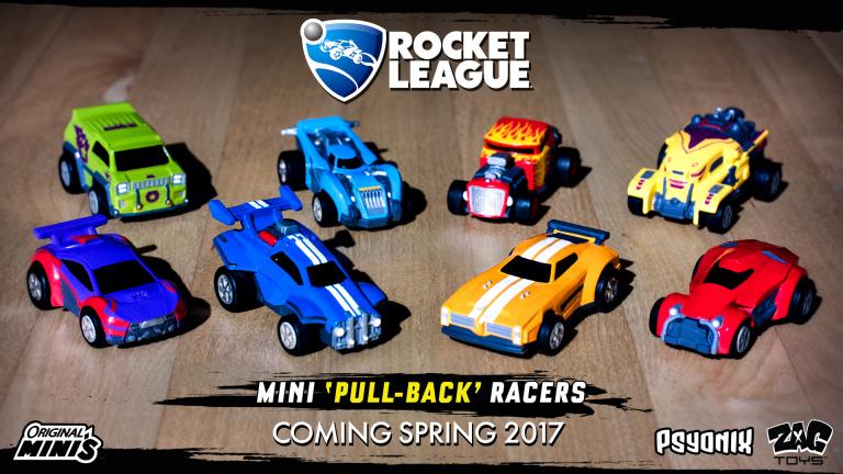 Les petites voitures Rocket League disponibles dès juin
