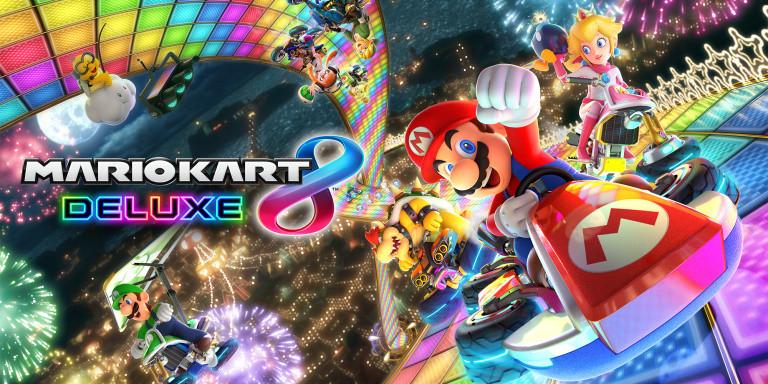 Une pluie de visuels pour Mario Kart 8 Deluxe
