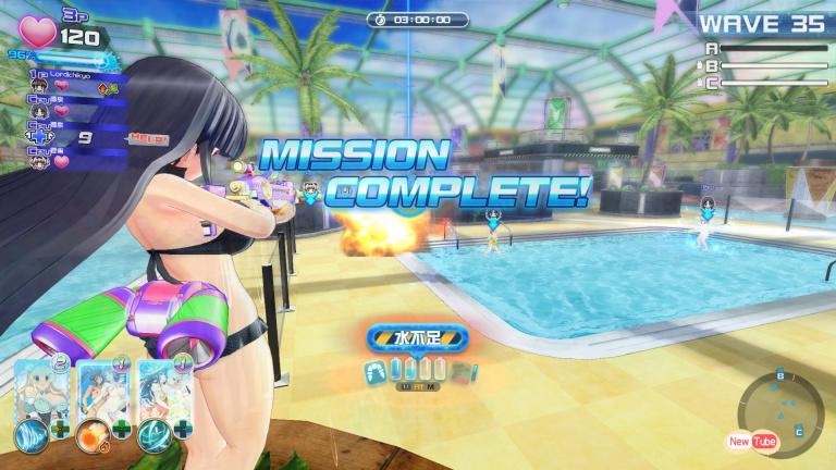 Senran Kagura Peach Beach Splash, le Splatoon PEGI18