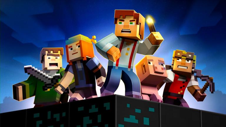 Minecraft Story Mode sur Switch pour fin juillet
