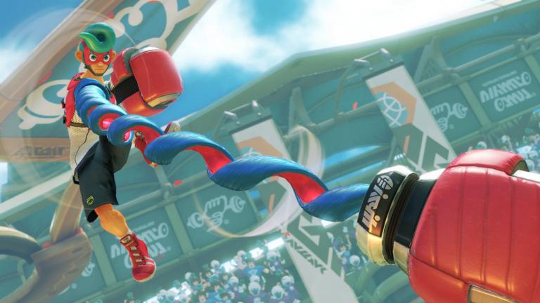 Des Joy-Con aux couleurs du jeu Splatoon 2 — Nintendo Switch
