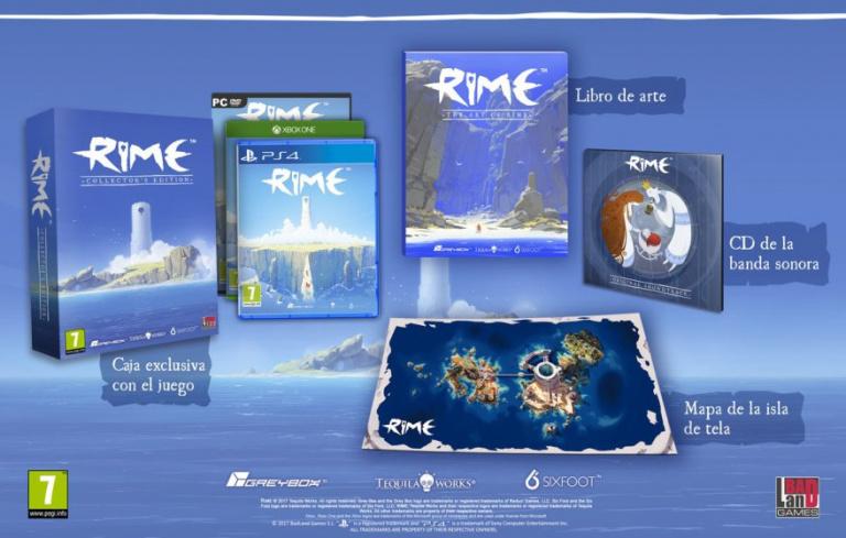 Rime : Présentation de l'édition collector espagnole