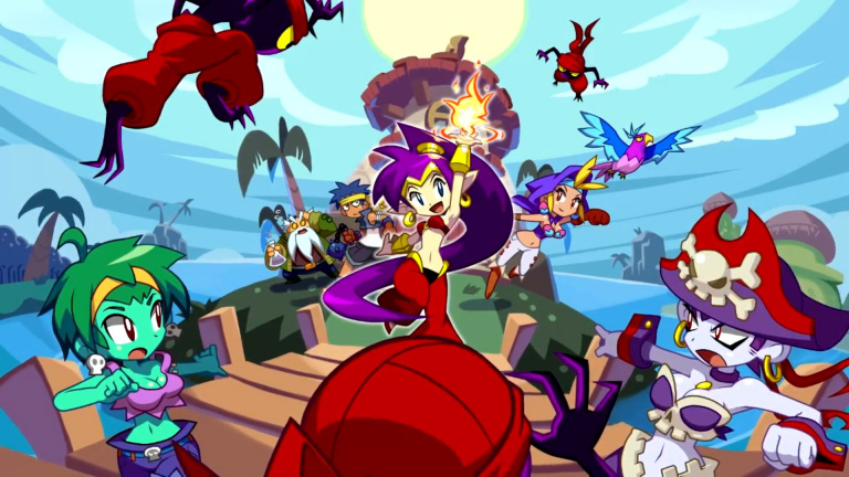 Shantae : Half-Genie Hero prend date sur Nintendo Switch
