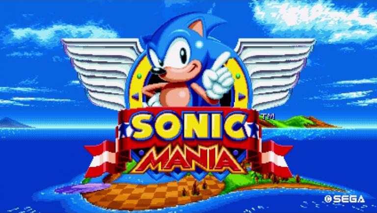Date de sortie officialisée dans une vidéo au charme rétro — Sonic Mania