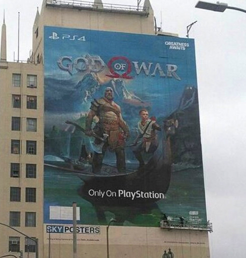 E3 2017 : la fresque de God of War est terminée