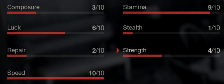 Les caractéristiques/statistiques des survivants
