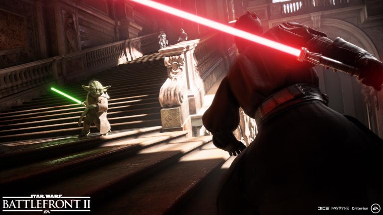 Le jeu Star Wars Battlefront 2, en Gameplay Vidéo