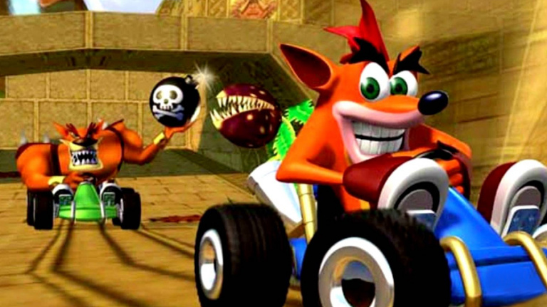 [Rumeur] Un remake de Crash Team Racing sur les rails ?
