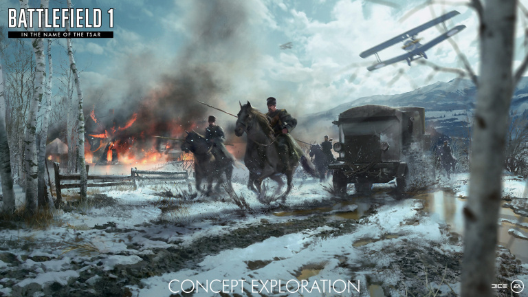 Battlefield 1 In the Name of Tsar s'offre un teaser