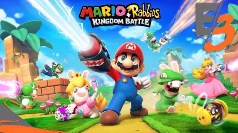 E3 2017 : Ubisoft confirme Mario + Rabbids Kingdom Battle