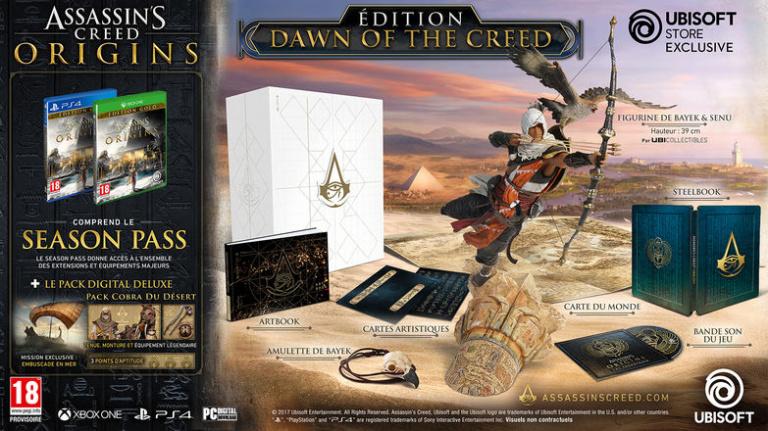 "E3 2017 : Assassin's Creed Origins, une ""Legendary Edition"" à 800 €"