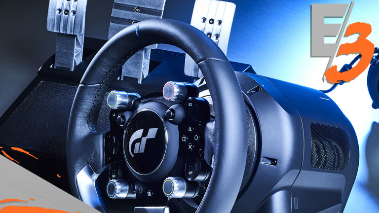 e3 2017 le volant officiel de gran turismo d voil en d tails par thrustmaster actualit s. Black Bedroom Furniture Sets. Home Design Ideas