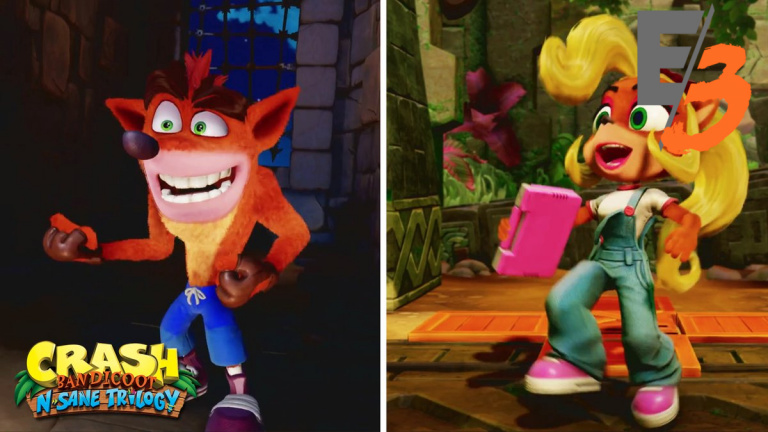 [E3 2017] Coco jouable dans Crash Bandicoot N. Sane Trilogy