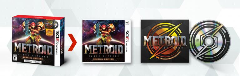 E3 2017 : Metroid : Samus Returns - une édition spéciale accompagnée de screenshots
