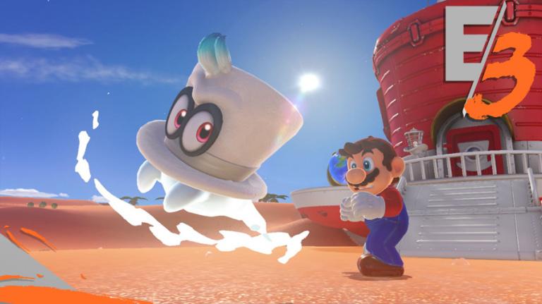 E3 2017 : Super Mario Odyssey se jouera bien en coopération