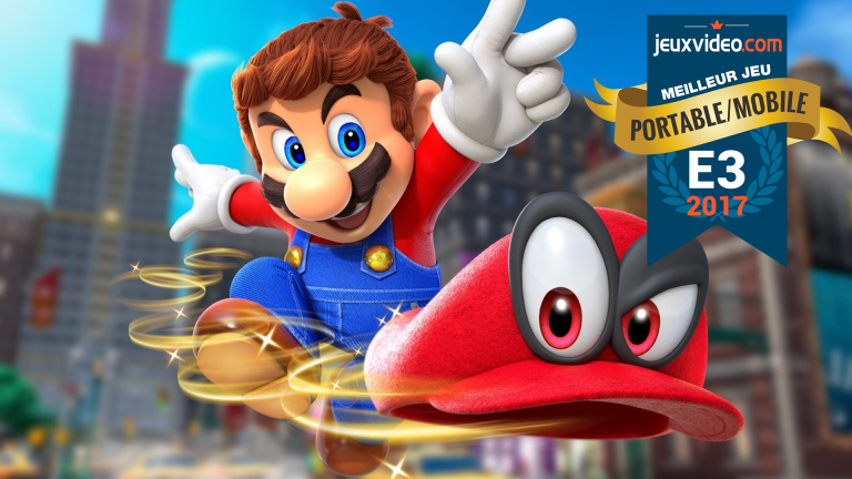 e3 2017 les meilleurs jeux du salon le meilleur jeu mobile portable super mario odyssey. Black Bedroom Furniture Sets. Home Design Ideas