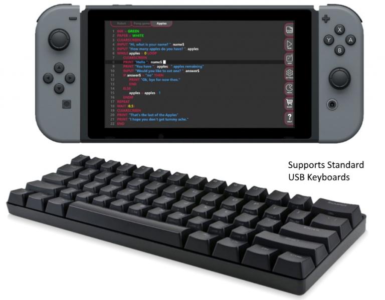 FUZE Code Studio : une app pour créer nos jeux sur Nintendo Switch