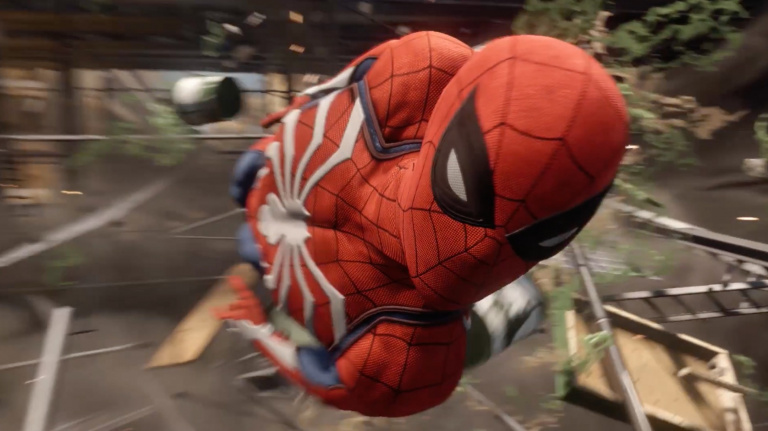 Spider-Man - Du 30 fps même sur PS4 Pro