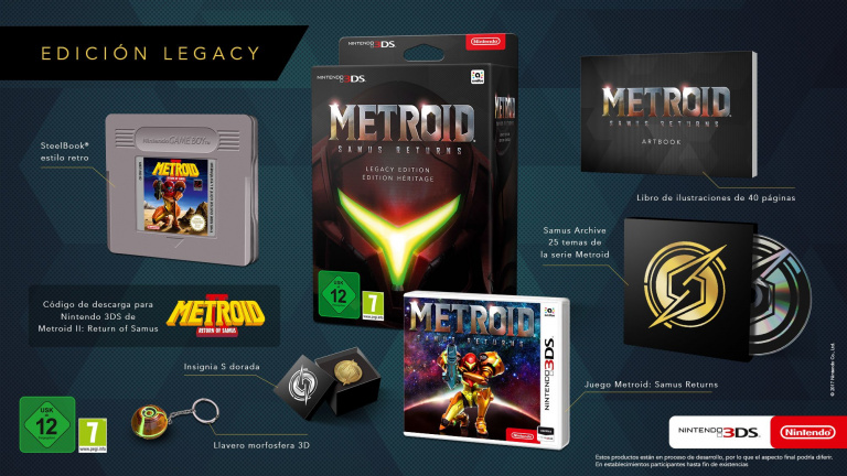 Metroid : Samus Returns dévoile sa collector