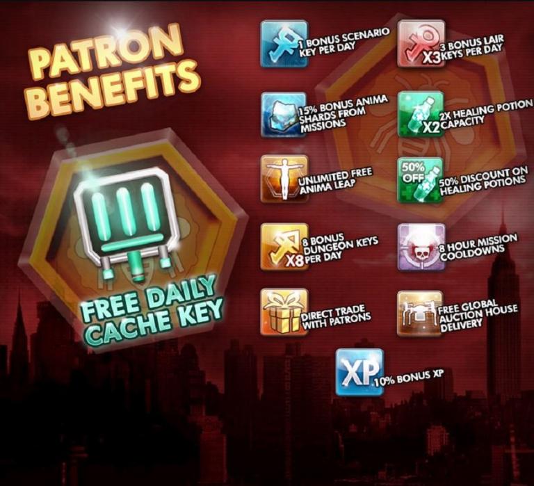 Secret World Legends dévoile ses bonus payants
