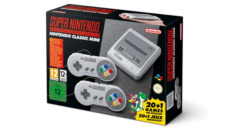 La Super Nintendo Classic Edition arrive à l'automne