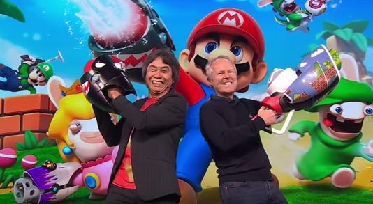 Japan Expo : Mario + The Lapins Crétins jouable sur le salon
