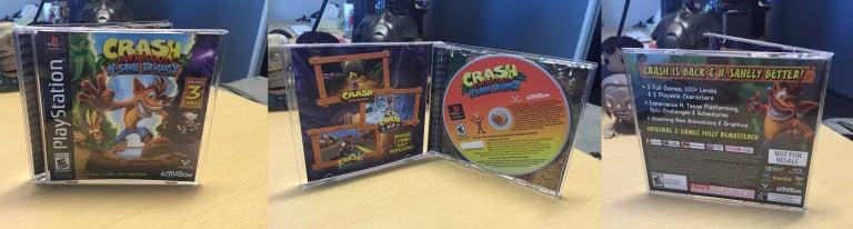 Crash Bandicoot N.Sane Trilogy : une version rétro qui fait baver les fans !