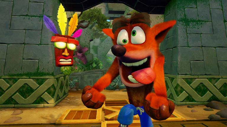 Crash Bandicoot N. Sane Trilogy démarre très fort au Royaume-Uni