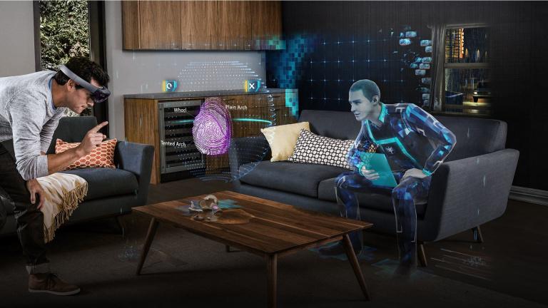Ubisoft s'intéresse au casque de réalité mixte Microsoft HoloLens