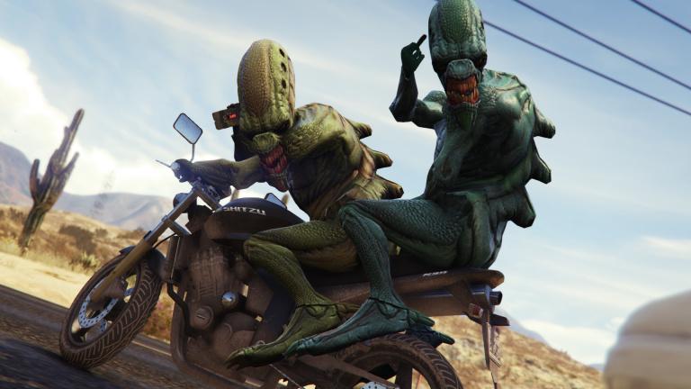GTA Online : des joueurs découvrent une mystérieuse soucoupe volante