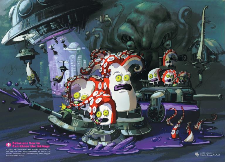 The Art Of Splatoon, un livre d'illustrations tentaculaire