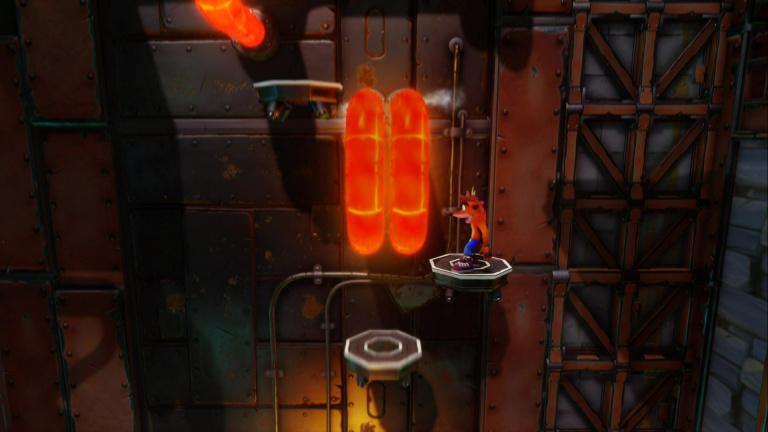 Niveau 23 : Castle Machinery