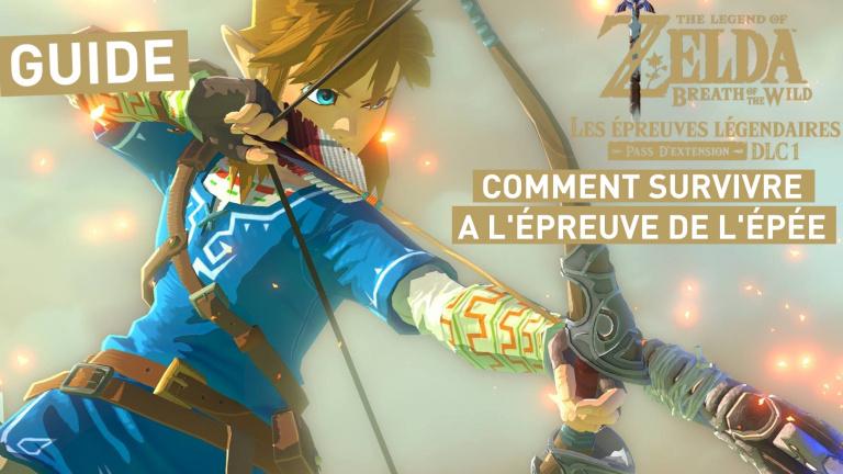 Zelda Breath of the Wild DLC 1 : comment survivre aux Épreuves de l'Épée, notre guide