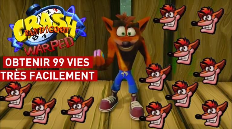 Crash Bandicoot N.Sane Trilogy : obtenir 99 vies facilement dans Crash Bandicoot 3