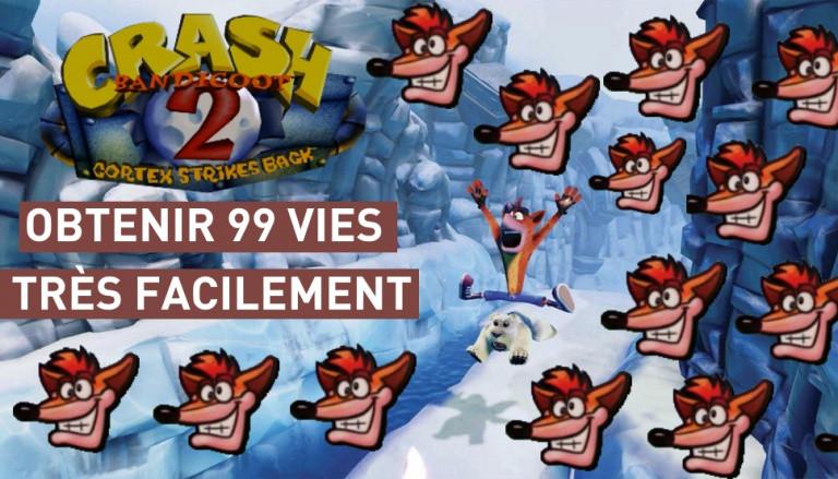 Crash Bandicoot N.sane Trilogy : Obtenir 99 vies facilement dans Crash Bandicoot 2