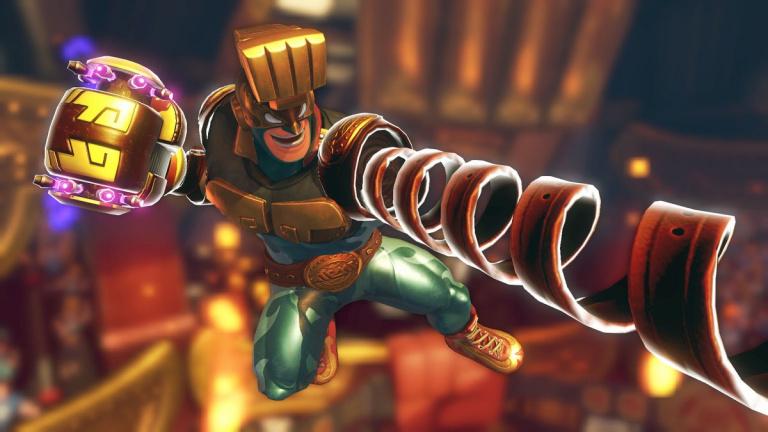 ARMS : le personnage de Max Brass sera disponible le 12 juillet