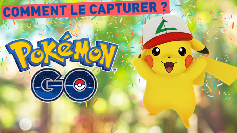 Un pokemon unique à attraper pour fêter l'anniversaire du jeu — Pokémon GO