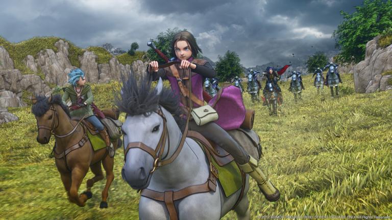 Dragon Quest XI aura droit à son patch 4K sur PS4 Pro