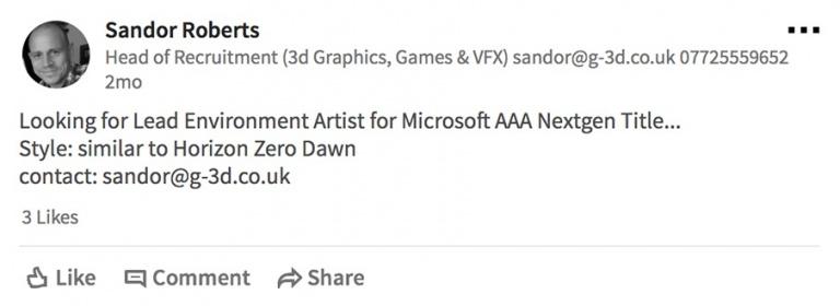 Xbox One : un prochain jeu AAA dans la veine d'Horizon Zero Dawn