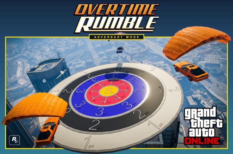 GTA Online s'offre un nouveau mode de jeu