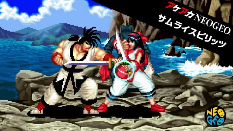 Samurai Shodown sera le prochain jeu ACA Neo Geo sur Nintendo Switch